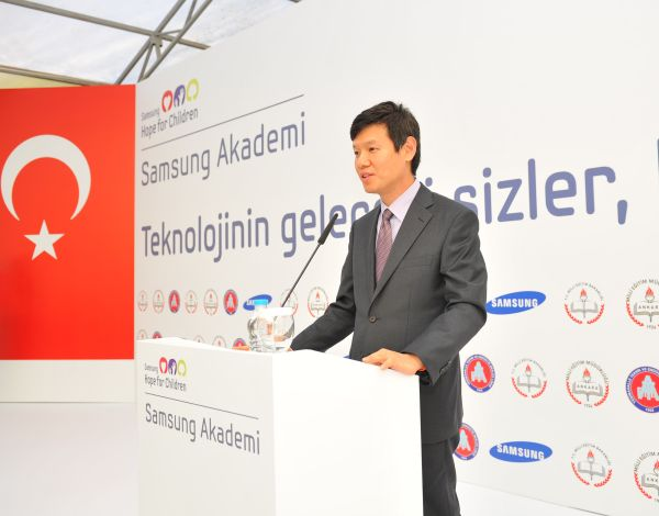 Samsung Electronics Turkiye Baskani Yoonie Joung