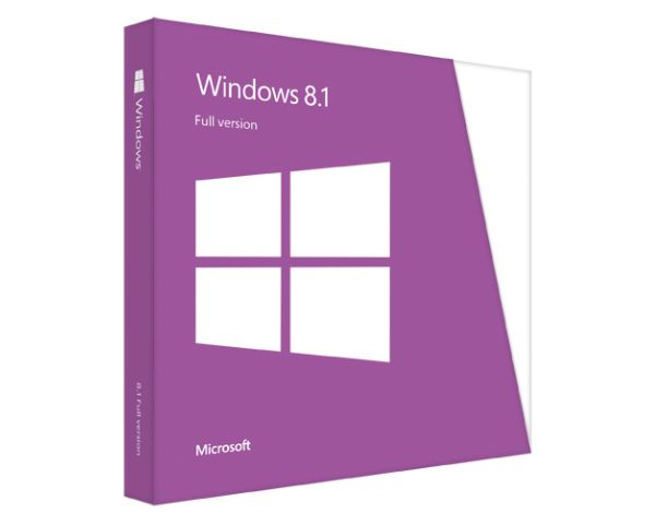 Windows 8.1 Box Shot