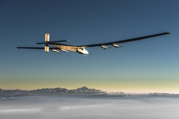 Solar Impulse 2 eighteenth flight