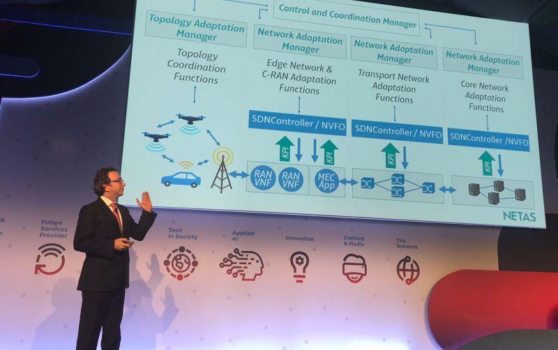 Netaş Mobil Dünya Kongresinde geliştirdiği ürün ve çözümleri ziyaretçilere gösterdi, firmanın odağındaki en önemli konu ise 5G bağlantısı için ağ otomasyonu.