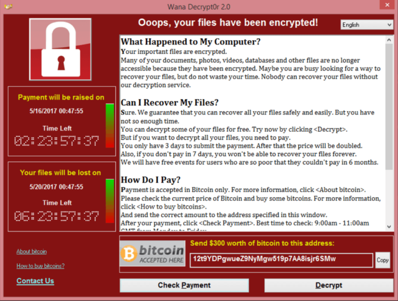 Küresel düzeyde tarihin en büyük fidye yazılımı saldırısı olanWannaCry, geçen yılın Mayıs ayında gerçekleşmiş, dünyada 150'yi aşkın ülkedeki 200 bine yakın sistem saldırıya uğramıştı.