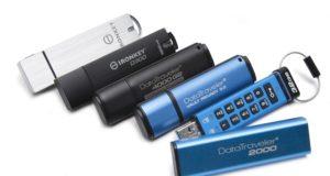 GDPR, şifreli USB, Kingston
