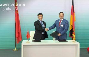 Huawei, Audi, stratejik iş birliği anlaşması