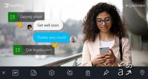Microsoft, SwiftKey, android klavye, anlık çeviri