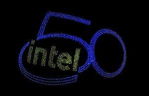 Intel, 50. yıl, basın toplantısı