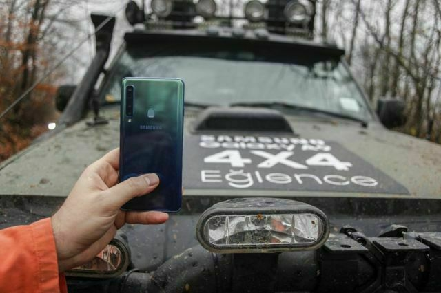 Samsung Galaxy A9, 4X4, off road