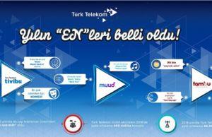 Türk Telekom, yılın 'En'leri