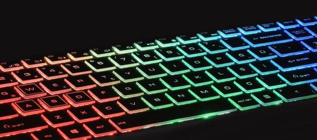Excalibur, RGB klavye, oyun bilgisayarı