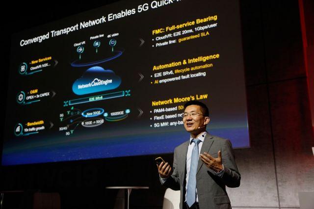 Huawei, 5G, birleşik ağ aktarımı