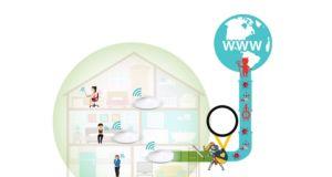 Evde güvenli internet