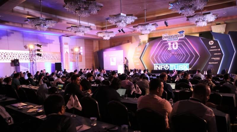 İNFOTÜRK GROUP tarafından Cisco ve HP Türkiye ana sponsorluğunda organize edilen ' Üniversiteler Buluşuyor ' etkinliğinin 10.'su 5-7 Nisan 2019 tarihleri arasında Kempinski Hotel, The Dome Belek'te gerçekleşti.