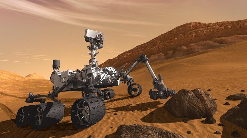 NASA uzay aracının teknolojisi