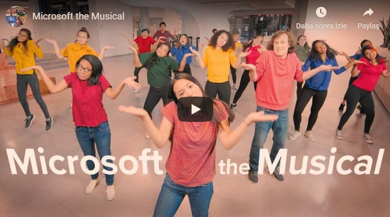Microsoft müzikal videosu bir ilk değil. Geçtiğimiz dönemde de Microsoft ürünleriyle ilgili birçok video hazırlamıştı. Fakat bu kadar içten...