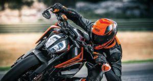 motosiklet sürücüsü radardan