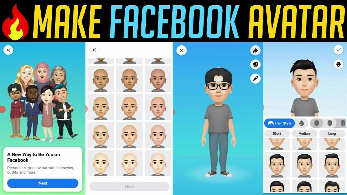Facebook avatarı nasıl yapılır