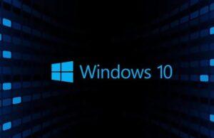 Windows 10 güncelleme desteği