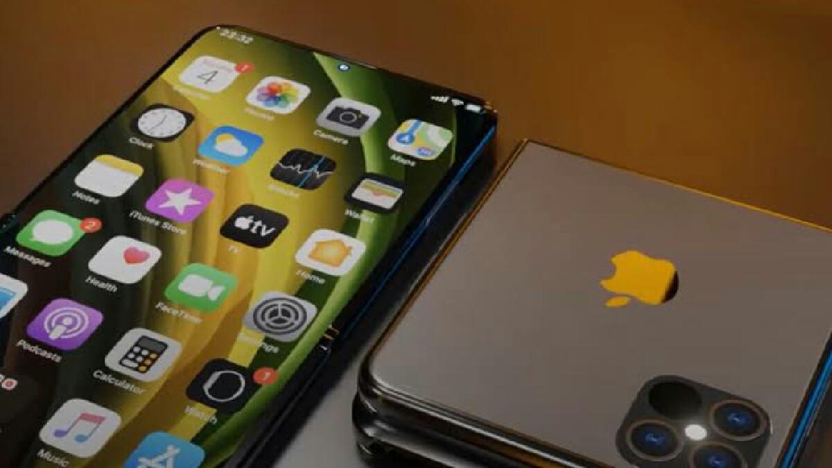 katlanabilir iPhone 12 tasarımı