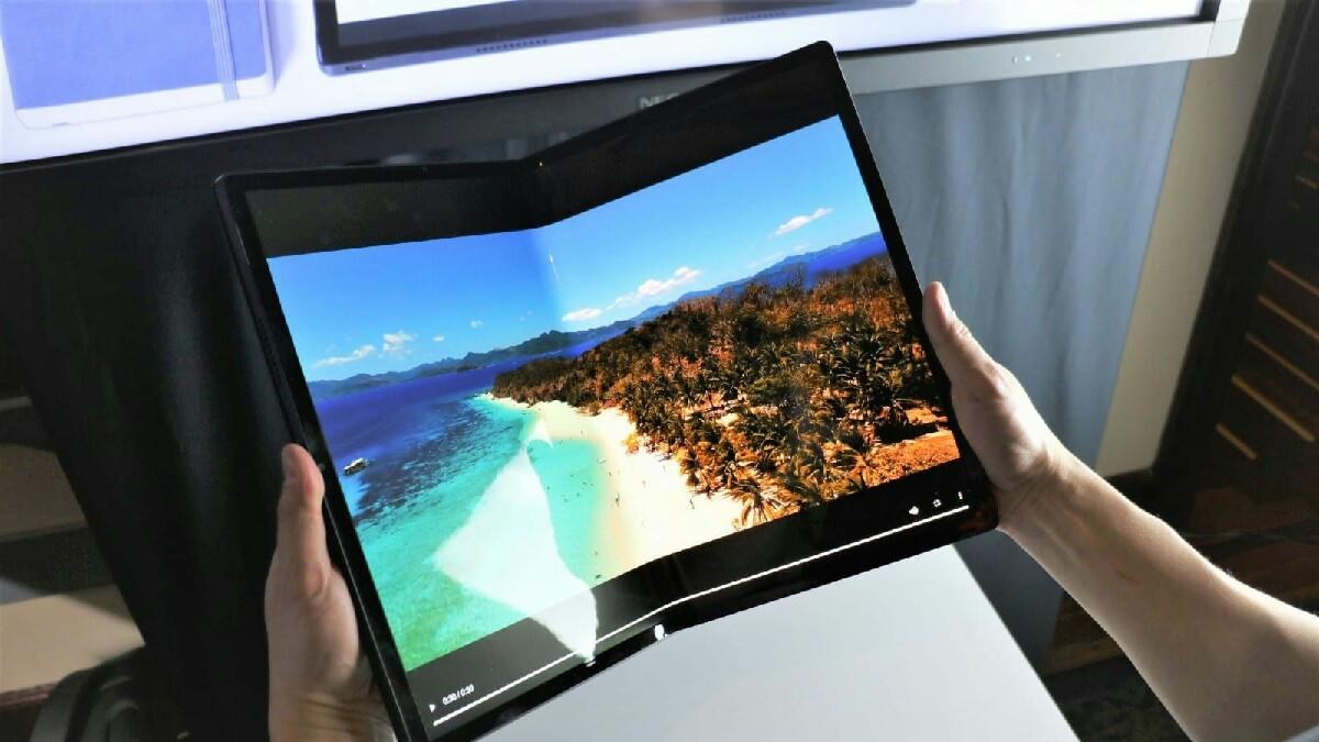 Microsoft çift ekranlı telefonlar