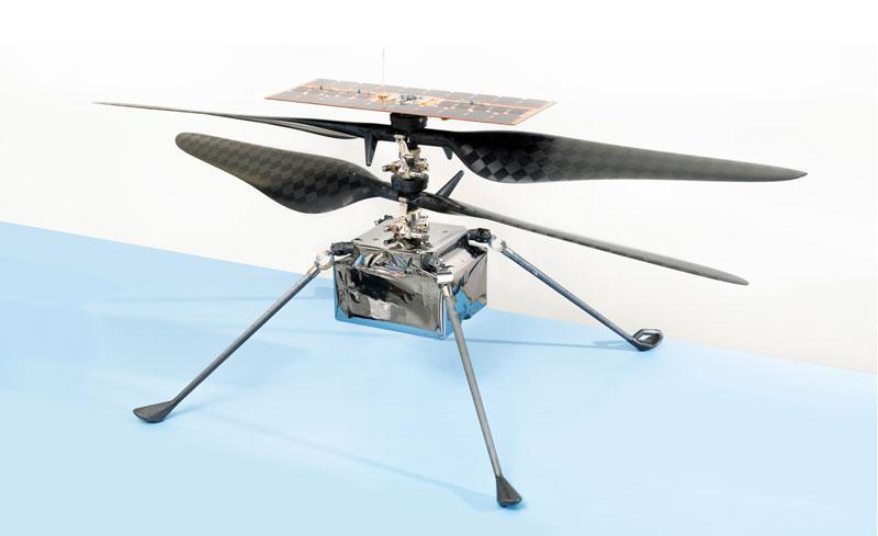 Mars'a gidecek olan helikopter