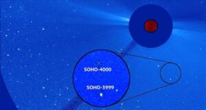 NASA kuyruklu yıldız görüntüledi