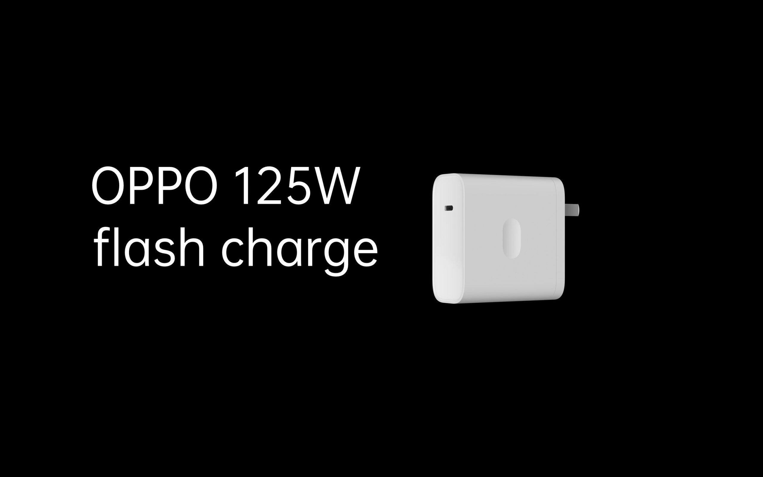 OPPO 125W hızlı şarj