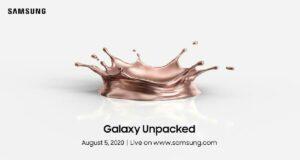 Samsung Galaxy Unpacked 2020 etkinliği