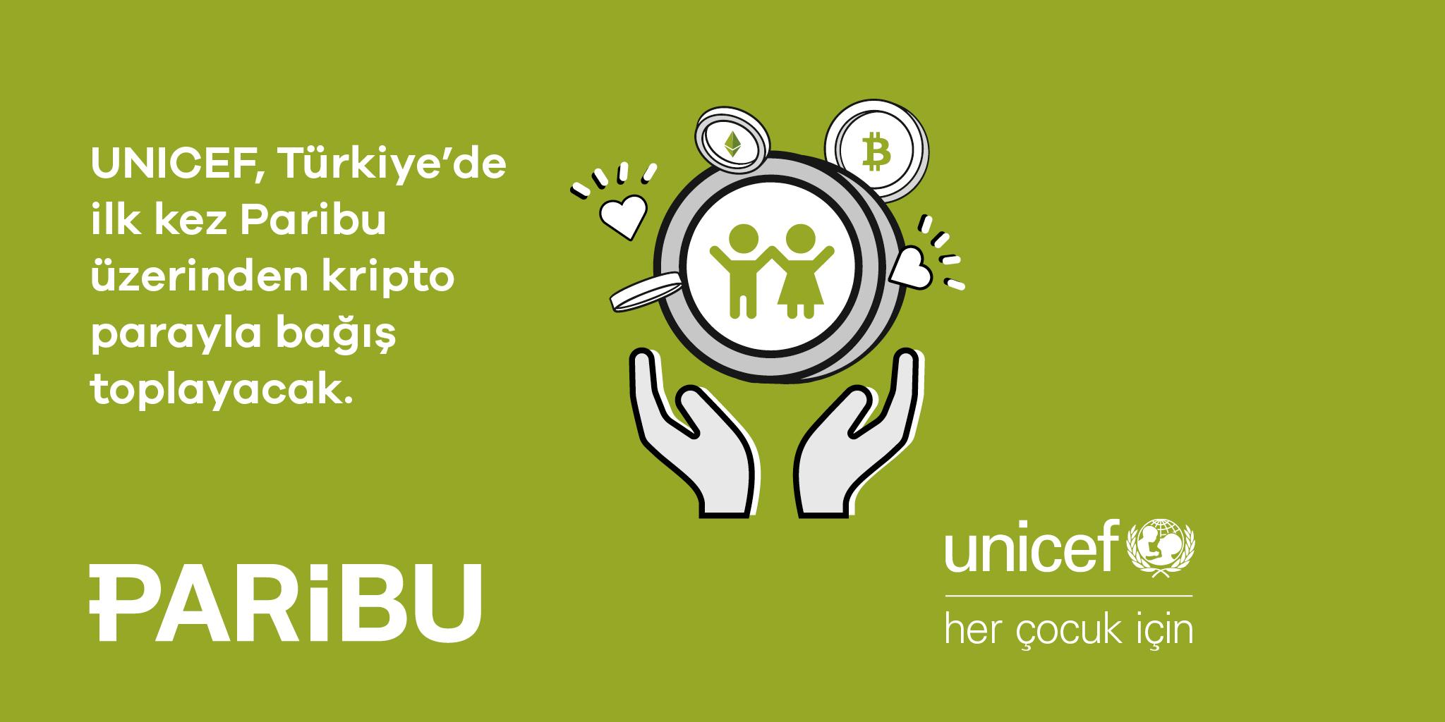 UNICEF Türkiye, Türkiye'de İlk Kez Kripto Para İle Bağış Kabulüne Başladı