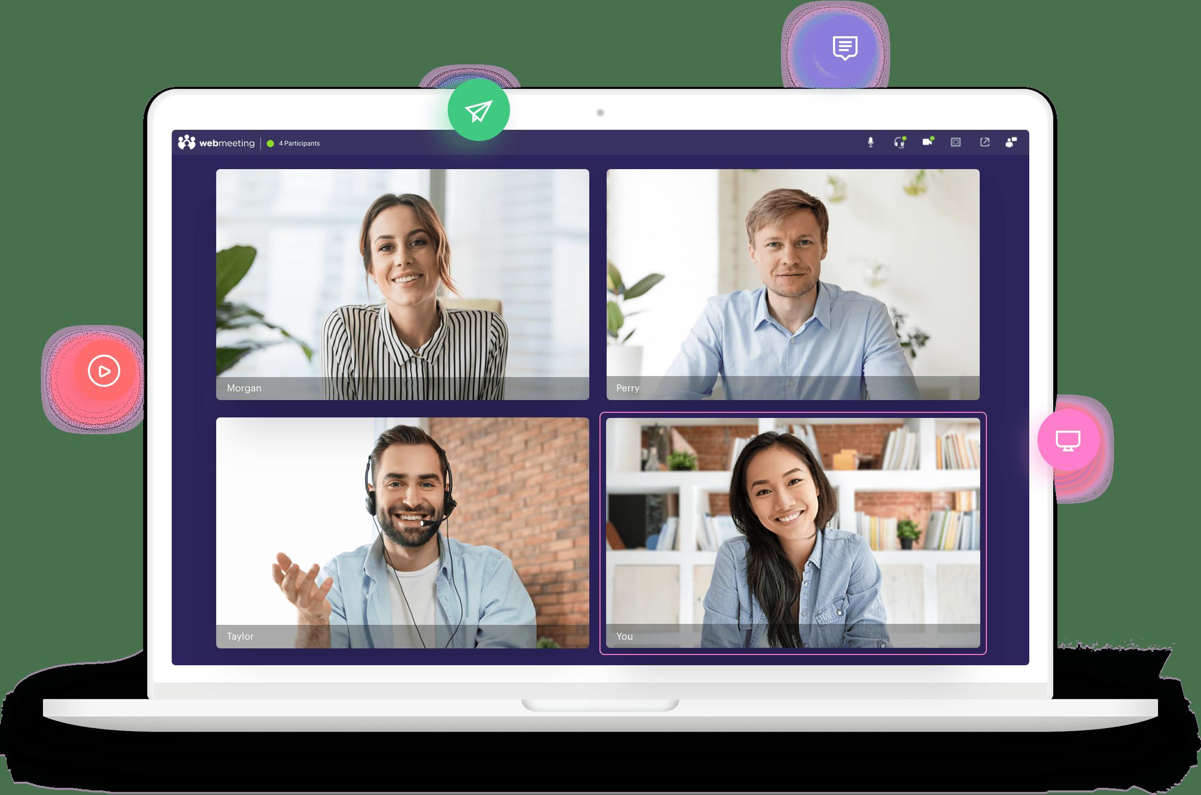 Sahte video konferans uygulaması