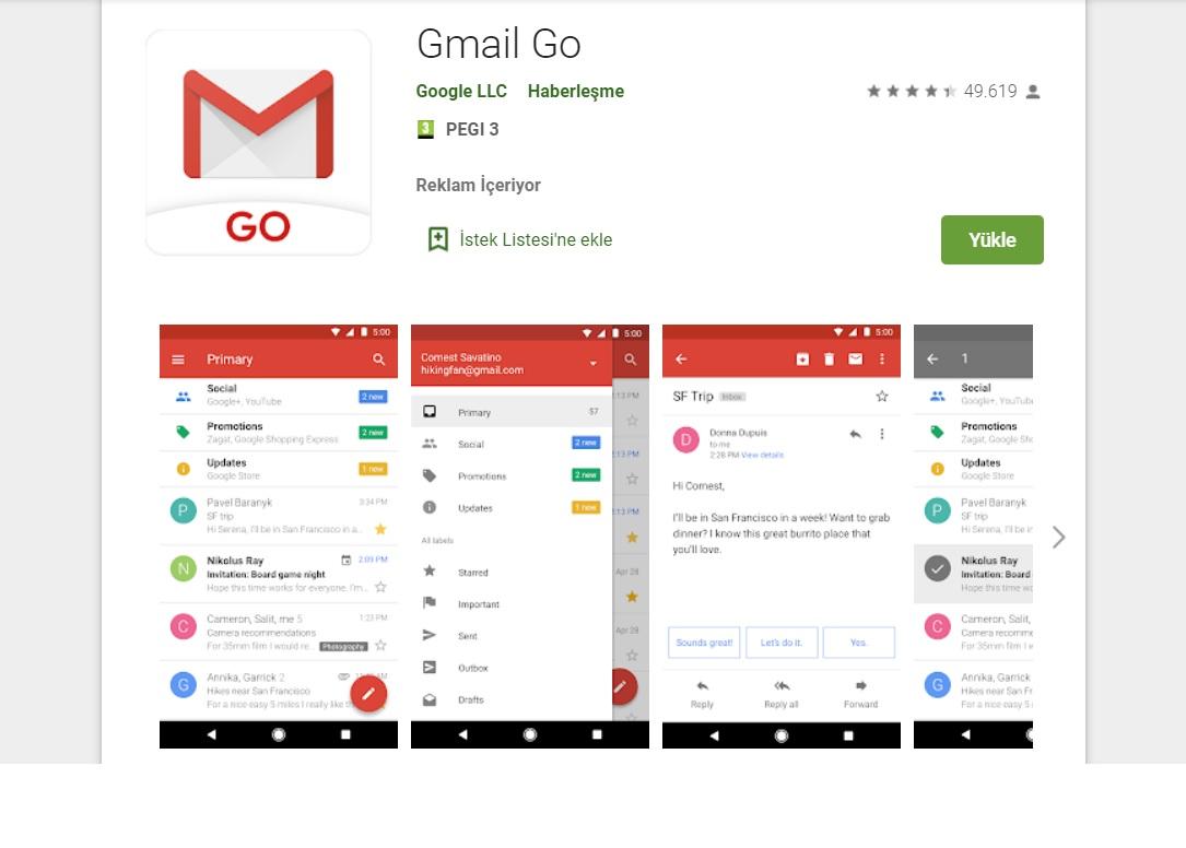gmail git