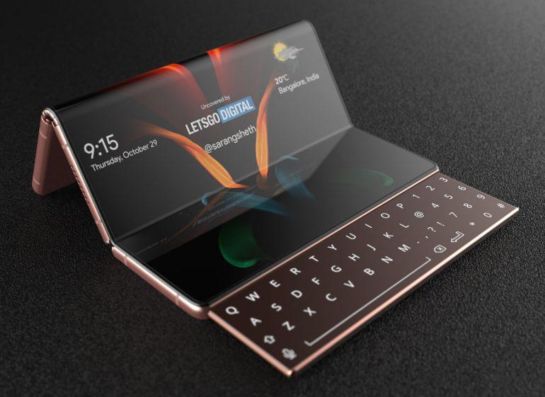 galaxy z fold 3 kayan klavye