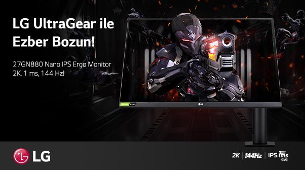 LG UltraGear 27GN880