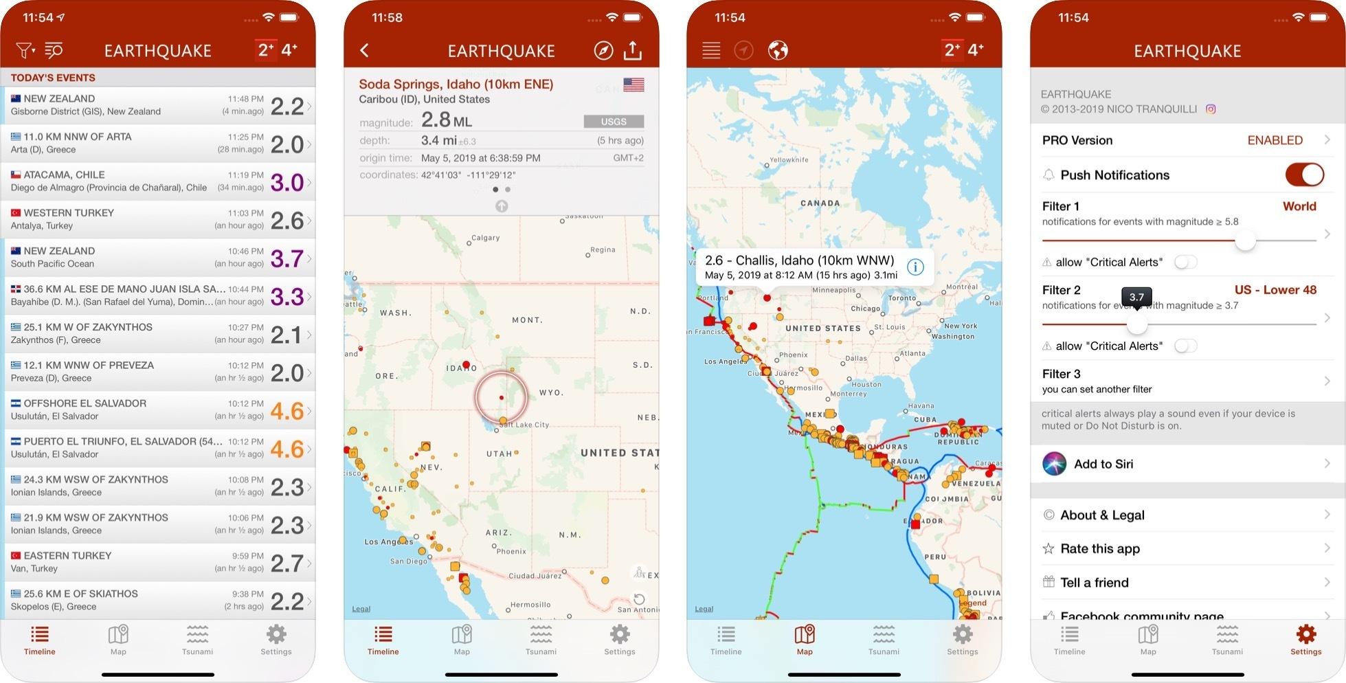 Canlı deprem takip