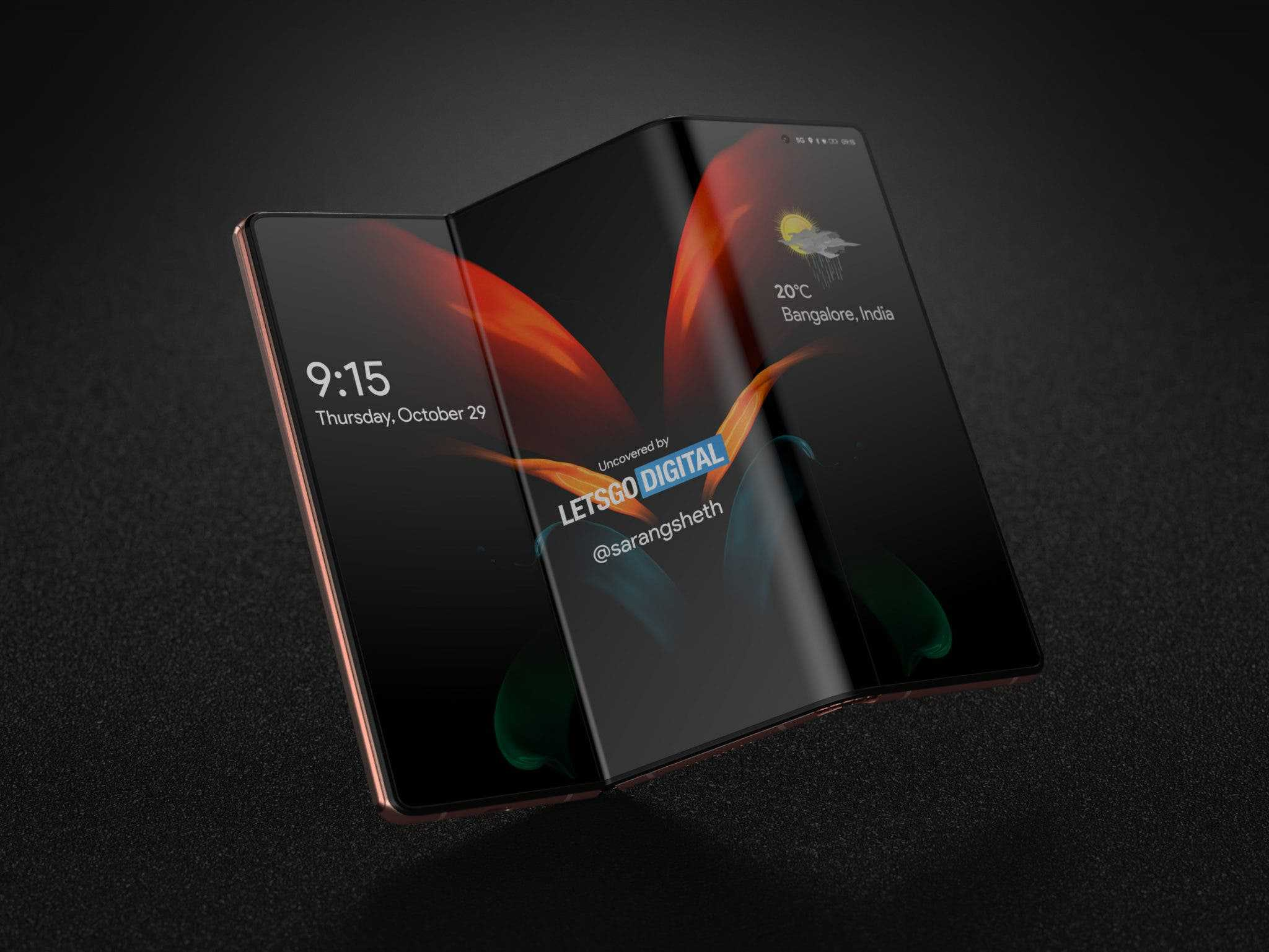 Samsung Galaxy Z Fold 3 ekran altı kamera