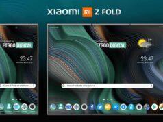 Xiaomi katlanabilir ekranlı akıllı telefon