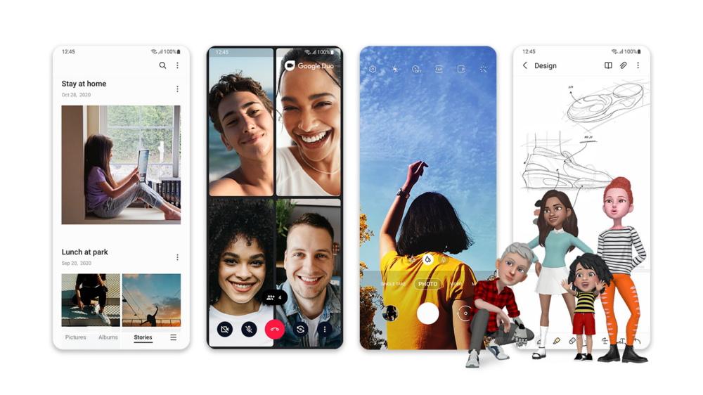 Galaxy S20 için Android 11