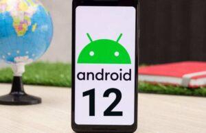 Android 12 Çift dokunma