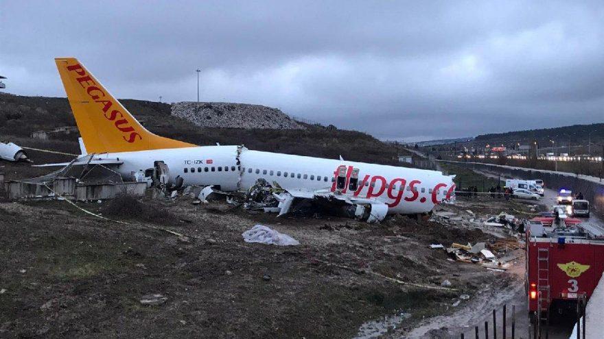 Türkiye'deki uçak kazası