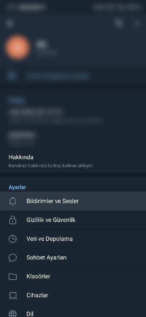 Telegram'a katıldı bildirimi