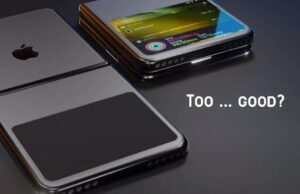 Apple bükülebilir ekranlar ile prototip hazırladı