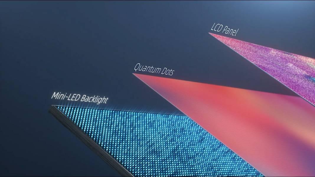 Mini-LED CES 2021 Mini-Led tanıtımı