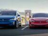 Tesla batarya değişimi