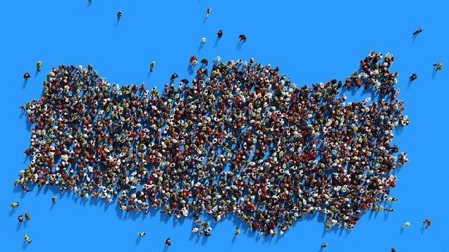 TÜİK Türkiye nüfusunu