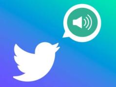 Twitter sesli mesaj