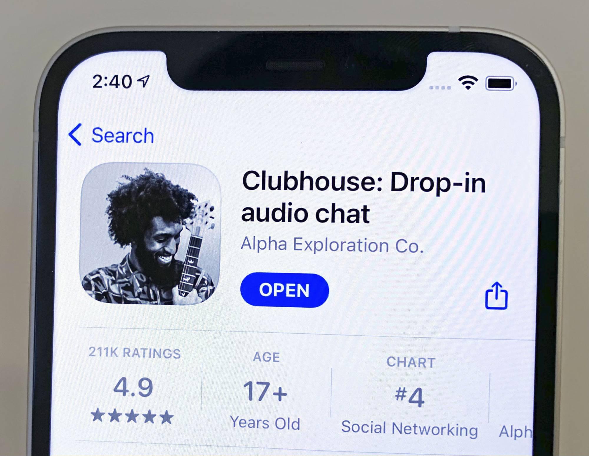 Facebook Clubhouse benzeri