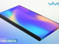 Vivo dışa katlanır telefon