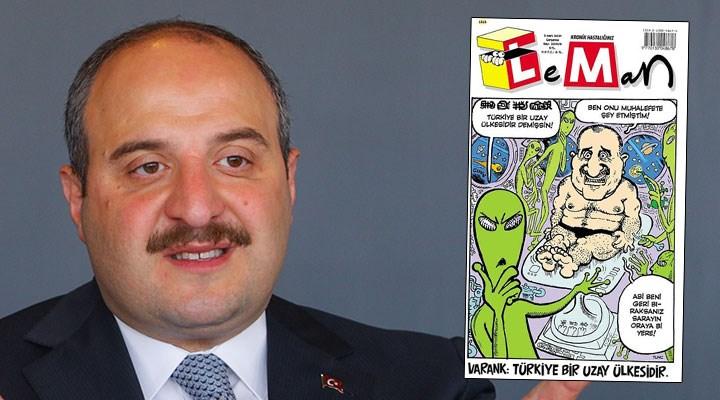 Mustafa Varank uzay tartışmasına