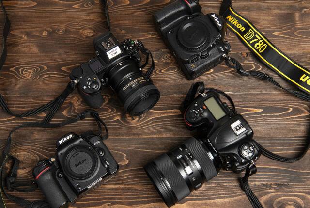 Nikon fotoğraf makineleri