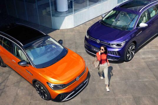Volkswagen Çin için sunduğu ID.6 modellerinde hiçbir fiziksel butona yer vermiyor